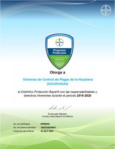 certificado bayer